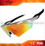 Солнечные очки спорта объективов UV400 хорошего качества заменимые защищают для всадника и задействовать с трудной упаковкой случая
