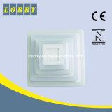 Свет панели Plsds6/3 цветов высокого качества двойным установленный квадратом