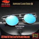 Seules grandes lunettes de soleil polarisées de film couleurs du bâti A393