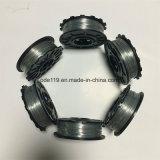 Venta caliente tramo de hormigón de alta calidad de la bobina de cable dedicado de la bobina de alambre galvanizado