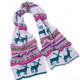 Bonitinha lenço de veados de Natal (JRI121)