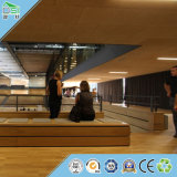 Строительный материал акустической панели доски деревянных шерстей для украшения стены