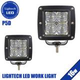Lightech Waterproof 16W LED 20W Square Cube 5D las vainas de 3 pulgadas de la luz de trabajo de 4X4 off road Jeep camiones