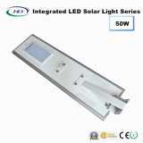 PIR Sensor를 가진 50W Integrated LED Solar Street Light
