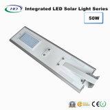50 W à LED intégrée Rue lumière solaire avec capteur PIR