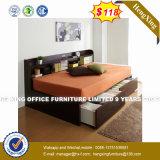 Armário de madeira Mobiliário de quarto de cama Cabeceira Conjuntos (HX-8nr1127)