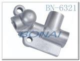 Accessorio di alluminio del coperchio laterale del radiatore dell'olio di Hino per il coperchio del radiatore dell'olio J08 (OEM: J08)