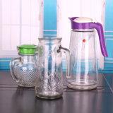 Vidro de alta qualidade Arremessador de água com tampa de plástico