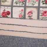 Baumwollwaschbare Steppdecke-Plaid-Stickerei-Bettdecke 100%