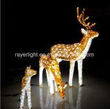 Klassische LED-Rotwild-dekorative Motiv-Lichter von der Fabrik
