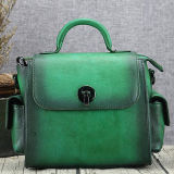 De 100% de Madame Crossbody d'emballage de sacs sac à main chaud en cuir réel de femmes de modèle en ligne de Chine Emg5212