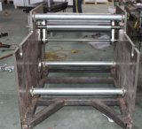 Halbautomatische Aluminiumfolie-Rolle, die Maschine herstellt