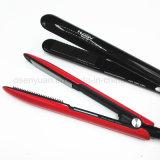 Brush Hair Straightener Comb Irons vem com tela LCD Straightening Hair Straightening com preto e rosa