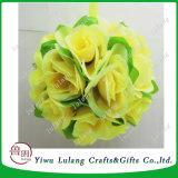 Beaucoup la pendaison artificiel Fleur Rose Ball Balle baisers décoratif