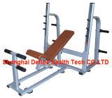 forma fisica commerciale, macchina body-building, strumentazione libera del peso, CREMAGLIERA MEZZA FW-601