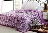 100% полиэстер печатных цветов фланелевая подкладка из флиса одеяло и постельное белье