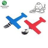 Le silicone bébé et une cuillère de fourche Kids Ensemble de couteaux