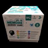 Изготовленный на заказ игра памяти сведении печати с карточками специальной формы играя для детей