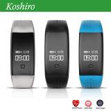 Faixa esperta de Bluetooth do monitor da pressão sanguínea de frequência cardíaca do oxigênio do sangue