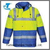 Безопасность людей зимы работая отражательная куртка