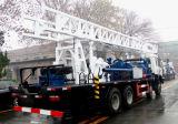 Plate-forme de forage montée et par Tailer montée 400m de camion de puits d'eau
