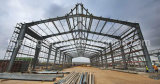 Estructura de acero fabricadas por la construcción de la soldadura de almacenamiento de Taller de Imagen Light
