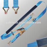 Ratchet Tie Down/Car Lashing Wheel Straps/Car Ratchet Straps