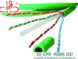 Passare il cavo di lan del cavo Cat5e CAT6 CAT6A UTP/FTP/STP della rete della passera