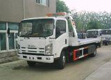 Caminhão de Wrecker Flatbed do reboque do tipo 5-8tons de Japão, caminhão da remoção do bloco de estrada