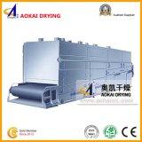 Productos plásticos continuos que transportan el secador
