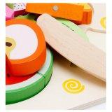 Магнитные деревянные детей резки фруктов моделирование претендует играть Детские образовательные игры игрушки