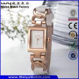 Reloj de acero de las señoras del cuarzo de la venta caliente de la manera (Wy-020A)