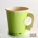 ハンドルが付いているコーヒー茶のための飲料の紙コップ8oz