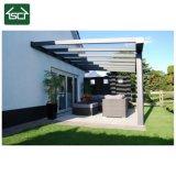 Toldo de aluminio de la lluvia del patio del alto grado, cortina de la lluvia, pabellón del balcón