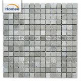 Het goedkope Marmeren Mozaïek van de Tegel van de Vloer van de Steen van de Prijs Vierkante Grijze Natuurlijke Marmeren