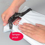 Plástico de color personalizado Poli Mailer Bolsa Bolsa de embalaje de prendas de vestir