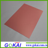 Штампованный жесткий ПВХ лист 0,35 мм штампованного ПВХ лист с жесткой рамой