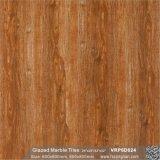 Material de construcción de madera Pisos de azulejo de porcelana pulida (600x600mm, VRP6D055)