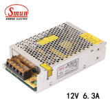 Individual Smun S-75-12 Output 75W 12V 6.3A Switching Power Supply