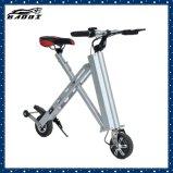 2018 новых алюминиевых сплавов 12кг мини-велосипедов с электроприводом складывания