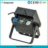 9X10W RGBWの電池式の無線同価は段階のためのライトできる