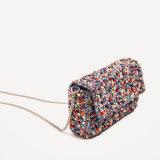 2017 saco de ombro Handmade luxuoso da senhora Forma Frisado