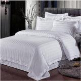 Krankenhaus-Bettwäsche-Baumwollmischungs-Streifen-Bettwäsche stellt preiswerte Bedsheets ein