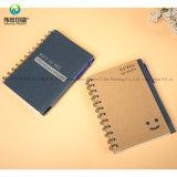 El cuaderno de encargo del Hardcover A6 con el papel de la libreta cubre el fabricante