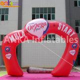 Jardin Archawy de mariage de forme de coeur d'arche de l'air gonflable pour le parti