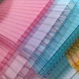 Folha UV da cavidade do policarbonato do revestimento da qualidade do ISO para a camada dobro