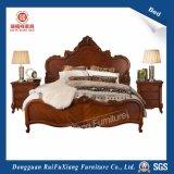 Rui Fu Xiang B268c hölzernes Bett mit Hand geschnitztem Muster