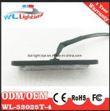 Grade de advertência Emergency Lighthead 4W azul do diodo emissor de luz da polícia