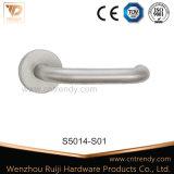 空のレバーのステンレス鋼のドア管状ロックのハンドル(s5006)