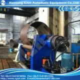 4 Rollengewölbte Blech-Walzen-Maschine, die im Dampfkessel bildet